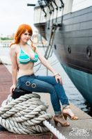 Nami - Off To The New World! by Flaming-Goddess