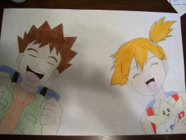 Brock and Misty by AJLeefan4life
