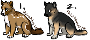 FREE Draw To Adopt Doggies 2! [WINNERS CHOOSED!] by FluffyKennels