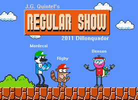 Super Regular Show Bros. by Dillonquador