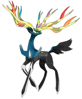 Xerneas by DeeJaysArt1993