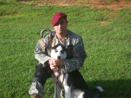 SPC and his Service Dog by Stargazer103