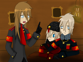 APH- Soviet Empire- The Siblings by annathewerewolf
