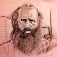 Rick Rubin Sketch by ASanchezDesigns