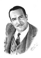 Jean Dujardin in The Artist by FrankGo