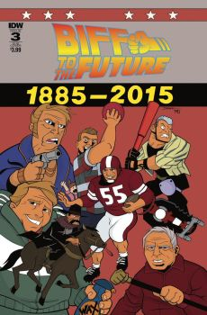 BIFF to the Future 3 cover by dfridolfs