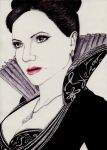 Once upon a time - Queen Regina by RoxiaMagicGirl