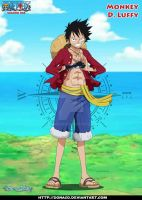 Monkey d Luffy TS by donaco