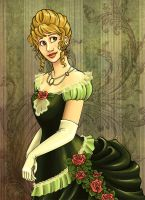 Julia- 1870s Ball Gown by Terrizae