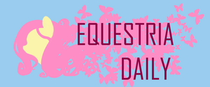 Equestria Daily Banner by Coin-Trip39