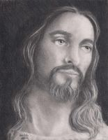 Jesus - graphite by janston