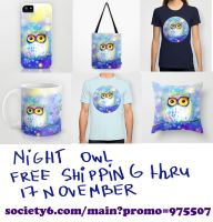 night owl by bemain
