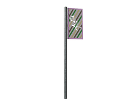 3D Racing Flag by Imalune