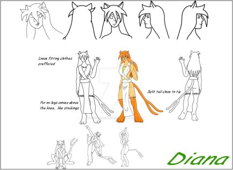 Character study Diana 2005 by grimdragon2001