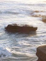 Rocks and Ocean 3 by stock-it