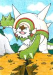 Chesnaught by jeazard