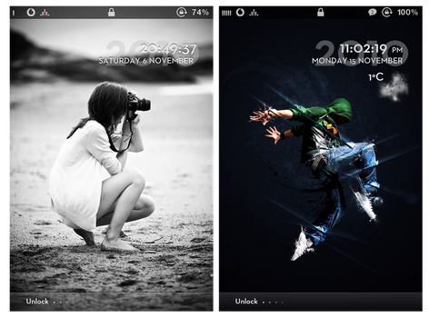 Simplicity iPhone theme by Yuelao