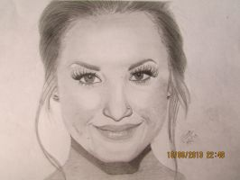 Demi Lovato by violet2424