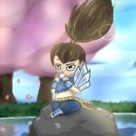LoL chibi: Tea Time Yasuo by Fly-flight