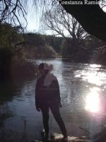 I in the river. by BeyondDivine