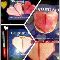 Origami Art Heart by AngelAmethyst