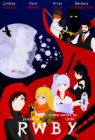RWBY Poster Comp Entry by pixie-blue