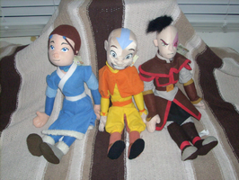 Avatar Airbender Dolls by Gamekirby