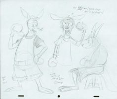 Boxing Roo Model Sheet 1 by jimferno