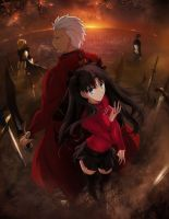 Fate/Stay Night: Unlimited Blade Works! by SSJRaging