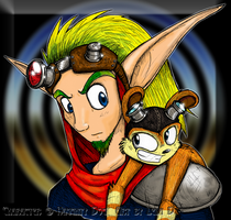 Jak and Daxter - Colored by metallixfaker