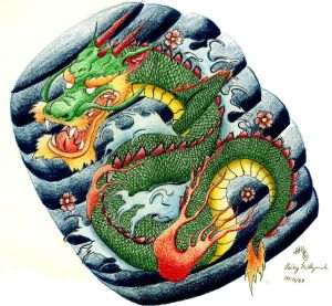 Tattoo Art  With Japanese Dragon Tattoo Designs Pictures Gallery