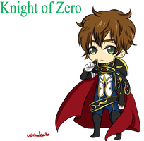 Suzaku: Knight of Zero by DarkyCakeDoodles