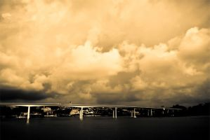 Beyond the bridge by PRibeiro