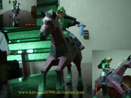 .::link and epona::. by kiri-chan1990
