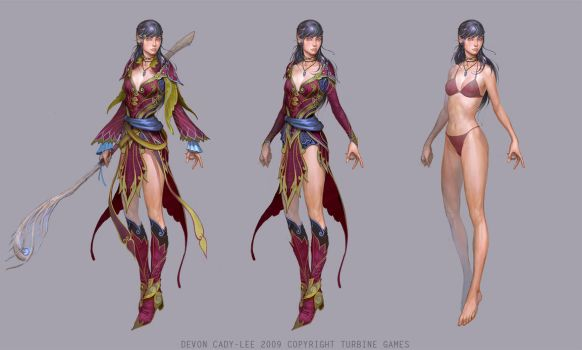 LOTRO- Elf Costumes by Gorrem