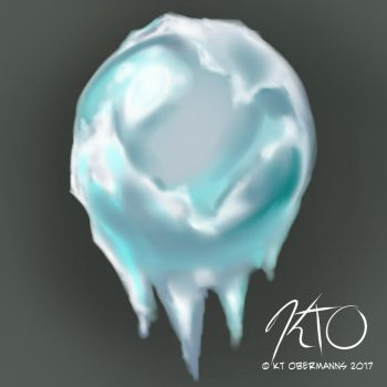 Material Study: Ice by KtObermanns