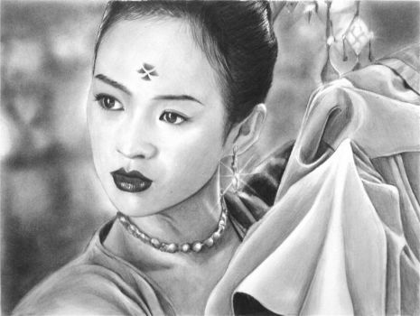 Zhang Ziyi by Y-LIME