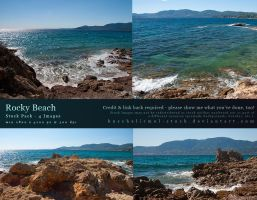 Rocky Beach Stock Pack by kuschelirmel-stock