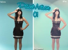Paint Action 01 by smecky