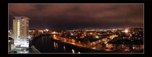 Lights Over the Taff by Silver-Guild