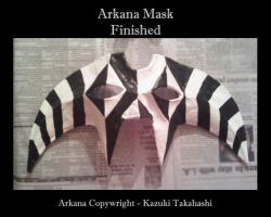 Arkana Mask - Finished by Athrun-Zala-guy