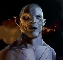 Azog the Defiler by KaiserCVR