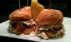 BBQ Pork Sliders Detail 2 by PrYmO-ART
