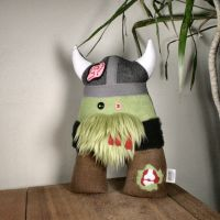 UnDead Zombie Viking Plush Friend by Saint-Angel
