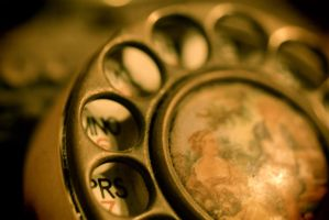 Antique Telephone by Justateen10
