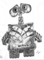 Wall-e by 5antiago