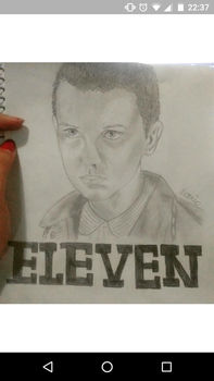 Stranger Things: Eleven by Therunawayshadow