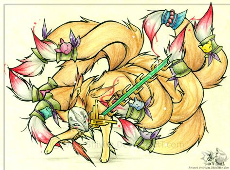 The False God, Ninetails by Shivita