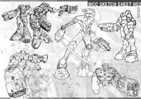 sketch sheet 002 by wiledog