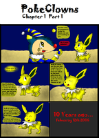 Pokeclowness chp1 part1 by SpectrePaw